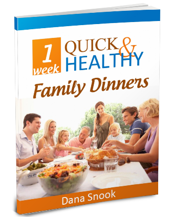 1 Week Quick & Healthy Family Dinners